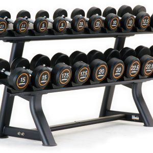 Pulse 136G Horizontal Dumbbell Rack